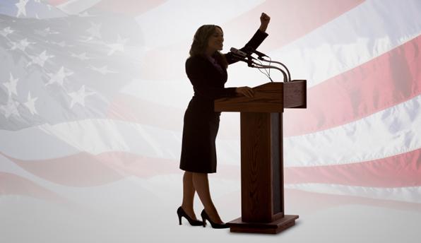 campaigningwoman