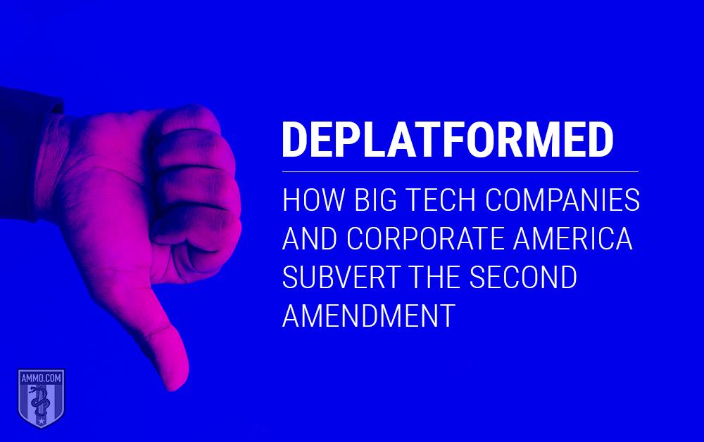 2nd Amendment and Deplatforming