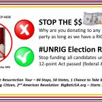 STOP THE $DOLLAR$ Campaign: #UNRIG Elections and Flush the Corrupt DNC and GOP