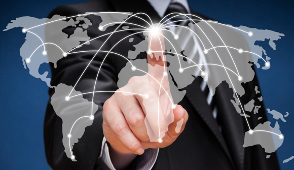 global network at your fingertips